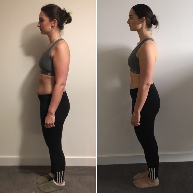 greta before and after 30 day challenge